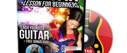 Learn How to Play Guitar DVD for Beginners – Plus Bonus Blues Guitar Lessons DVD