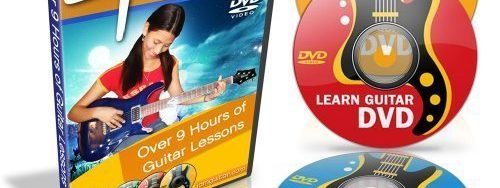 9 Hours Guitar Lessons – Learn How to Play Guitar – 4 DVD Combo Set