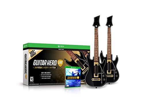 Guitar Hero Live Supreme Party Edition 2 Pack Bundle – Xbox One