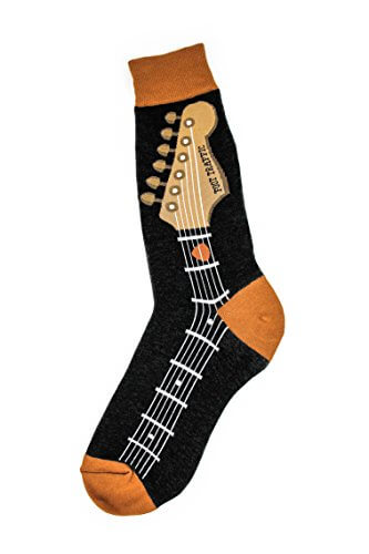 Foot Traffic – Music Men's Socks (Guitar Neck)